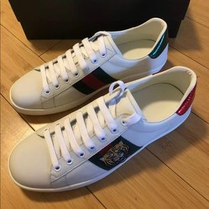 Gucci ace tiger sneakers